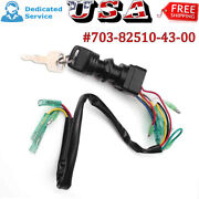 Ignition Switch Key Assy For Yamaha Outboard Motor Control Box 703-82510-43-00