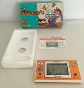 Nintendo Game And Watch Wide Screen Tropical Fish Mint Box Case Instr. Works Super