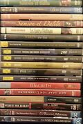 18x Dvd Lot - Operas Plays Musicals Broadway Shakespeare Theater Rare Vg+ Fr/shp