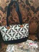 Thirty One Demi Day Lunch Tote Bag Purse 31 Gift In Fab Flourish New