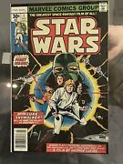 Star Wars 1 First Issue Bronze Age Disney Marvel Comic 1977 Beautiful In Frame