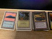 Magic The Gathering Vintage Lands Collection 730 Cards