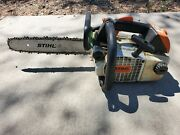 Used Genuine Stihl 020t Professional Top Handle Chainsaw As Is Sale