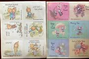Vintage Hallmark 2 Sheets Of Stickers, 1975 And 76 Mouse, Betsy Clark