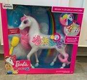 Barbie Dreamtopia Brush And039n Sparkle Unicorn New In Box By Mattel