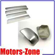 Painted Ux Ingot Silverfor15-19 Ford F150 Mirror Caps+side Dr Molding Protector