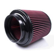 Universal Sandb Filter R1267 - Cleanable 8-ply Cotton Red Oil - Cold Air Intake