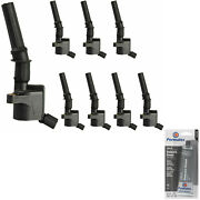 8 Pack Ignition Coils Grease For E150 Van E250 E350 Ford Expedition Lincoln Town