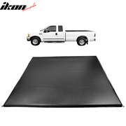 Fits 99-18 Ford F250 F350 Super Duty 6.5' Ft Truck Bed 4 Fold Led Tonneau Cover