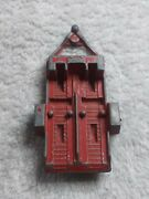 Tootsie Toy Red Motorcycle Trailer Made In U.s.a. 1969