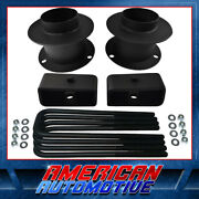 3.5 Front + 2 Rear Full Leveling Lift Kit For 94-01 Dodge Ram 1500 4wd 4x4