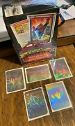 1990 Marvel Universe Series 1 Factory Sealed Box W/ 5 Holos