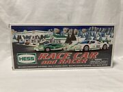 Hess 2009 Toy Truck Race Car And Racer - Flashing Lights And Multiple Sounds - Nib