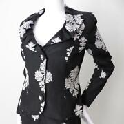 G2 By George Gross Jacket Nwt Rrp 899 Long Sleeve Embroidered Size 8 Us 4