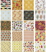 Ambesonne Autumn Art Microfiber Fabric By The Yard For Arts And Crafts