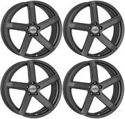 4 Dotz Cp5 Wheels 8.5jx20 5x112 For Jeep Compass