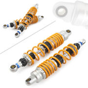 Yellow 360mm Motorcycle Rear Shock Absorber Damper For Kh100 Kh125 Rs100 Rs125