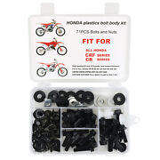 Aftermarket Complete Plastics Body Bolts Fit For Honda Crf150 Crf250 Crf450