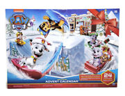 Nickelodeon Paw Patrol Christmas Advent Calendar 24pc Age 3+ Pups And Accessories