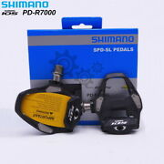 Shimano 105 Pd-r7000 Road Bike Pedal With Sm-sh11 Cleats Bicycle Pedals Spd-sl