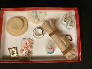 Group Of Antique And Vintage Accessories For Dolls