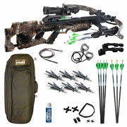 Excalibur Assassin 420 Td Crossbow Pro Package - Realtree Edge Camo - New