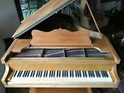 Chickering 5and0393 Grand Piano + Matching Wooden Bench