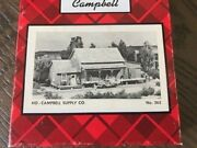 Campbell Scale Models Campbell Supply Co Ho/hon3 402 Craft Wood Kit Mint Nib