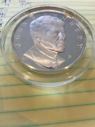 1973 John F Kennedy 2.1 Ounces Of Sterling Silver Andldquo...of Those To Whom Much Is