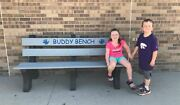 6and039 Recycled Buddy Bench