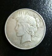 Peace Dollar 1922 - 90 Silver - Random Pick Of One Coin
