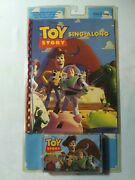 1995 Walt Disney Toy Story Golden Book With Sing Along Cassette