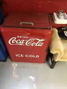 Coca Cola Cooler Vintage Coke Ice Chest-water Fountain