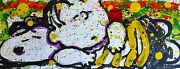 Tom Everhart Snooze Alarm Boogie 715 Am Snoopy Linus Peanuts Hand Signed