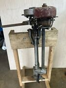 Vintage 1920andrsquos Johnson Seahorse Model 100 Antique Outboard Boat Motor For Parts