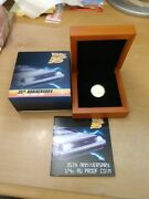 2020 Niue Back To The Future 35th Ann. 1/4oz Gold Proof Coin Mintage 121