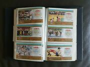 Rare Vintage 1988 Seoul Olympic Games Lottery Full Collection Book Korea Sport