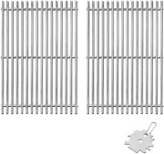 304 Stainless Steel 7639 Cooking Grates For Weber Spirit 300 700, Genesis Silver