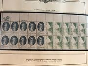Stamps Great Collection Of About 127 Us Mnh Plate Blocks 1977-81 In Minkus Album