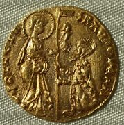 Gold Ducats Of Venice. Hand Struck Over 500 Years Ago. With Certificate.