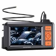 Depstech Industrial Endoscope 1080p Hd Borescope 4.3and039and039 Screen Inspection Camera