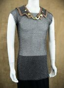 Roman Chain Mail Lorica Hamata Medieval Armour Hamata Butted Chainmail Reproduce