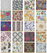 Ambesonne Floral Romance Microfiber Fabric By The Yard For Arts And Crafts