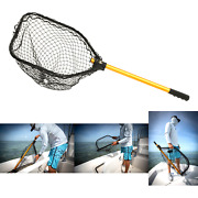 Frabill Power Stow Poly Net | Foldable Fishing Net For Easy Storage | For Fre...