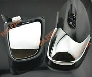 Chrome Left/right Rear View Mirrors For Bmw K1200lt 1998-2009 1999 2000 2003