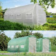 King Bird Large Greenhouse 15and039x6.6and039x6.6and039 Walk In Hot House Heavy Duty Planter Us