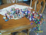 Christmas Ornaments Vintage Hallmark And Others Lot Of 44 Holiday Decorations....
