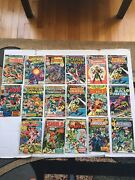 Marvel Comics By Lot/16 From Ms.marvel To Machine Man Dracula Red Sonja.......