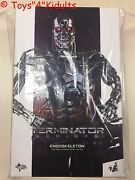 🔥 Hot Toys Mms 352 Terminator Genisys Endoskeleton 12 Inch Action Figure New