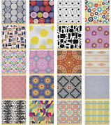 Ambesonne Abstract Form Microfiber Fabric By The Yard For Arts And Crafts